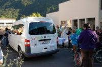 Feierliche Übergabe des Schulbusses an das Heilpädagogische Zentrum Uri (2013)