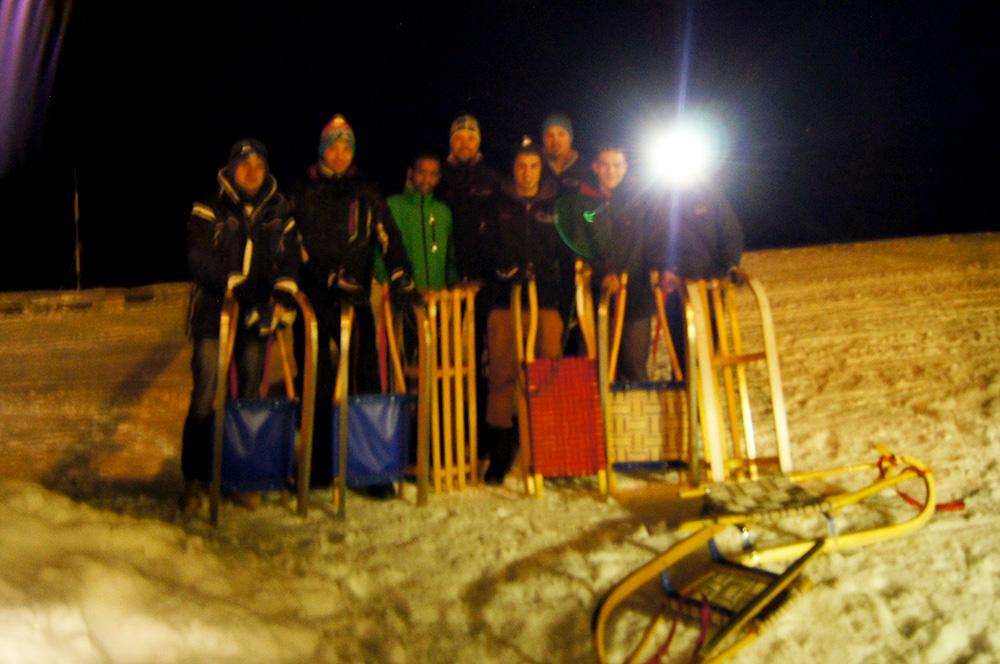 Team im Schnee (2013)