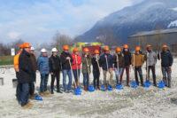Garage Walker: Spatenstich für den Neubau in Schattdorf