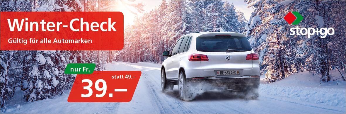 Garage Walker: Winter-Check für alle Automarken nur Fr. 39.– statt 49.–